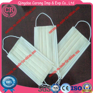 Disposable Active Carbon Non-Woven Filter Ear-Loop Face Mask pictures & photos