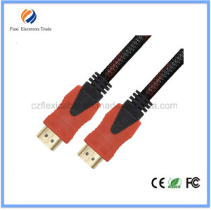HDMI2.0V 4k*2k Gold Plated Flat 2.0version HDMI Cable pictures & photos