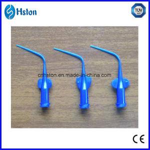 Disposable Blue Pre-Bent Needle Tips pictures & photos
