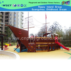 Large Wooden Corsair Playground Equipment for Sale (HD-5401-1) pictures & photos