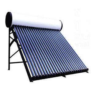 Pressurized Solar Water Heater with Heat Pipe pictures & photos