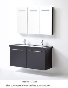 Sanitary Ware Bathroom Furniture with Mirror Cabinet pictures & photos