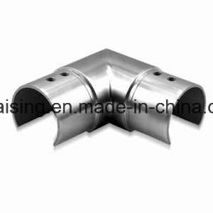 Stainless Steel Slot Tube Handrail Straight Connector pictures & photos