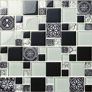High Grade Decorative Materials with White Marble Mosaic Tile pictures & photos