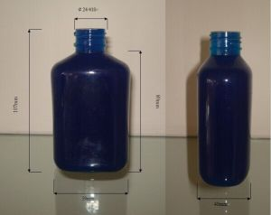 150ml /5oz Oval Pet Bottle with Pump (ZY01-A013) pictures & photos