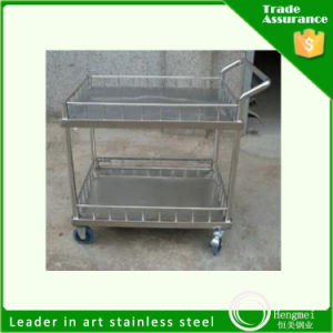 304 Stainless Steel Sheet Food Cart for Kitchen Appliance Hotel Using pictures & photos
