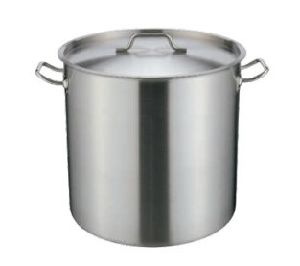 Tall Stainless Steel Stock Pot with Compound Bottom pictures & photos