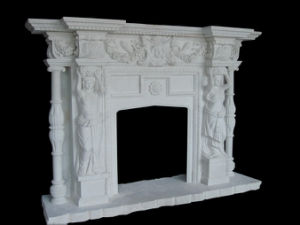 Statuary Fireplace (FRP329) pictures & photos