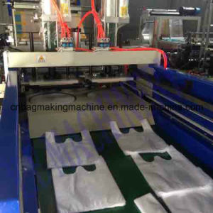 Plastic Heat Sealing Cold Cutting Bag Making Machine (DFJ) pictures & photos