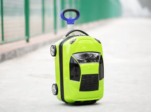 ABS+PC Childrenluggage Trolley Case Toy Car Luggage pictures & photos