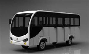 Electric Shuttle Bus, Elecreic Passenger Car, 14seat Bus, Mimi Bus, Small Bus, Airport Shuttle Bus, Tourist Bus, Electric Vehle pictures & photos