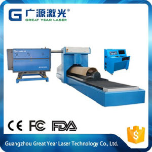 Rotary Die Board Laser Cutting Machine Gy-3000 pictures & photos