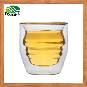 Hot Sale Crystal Double Wall Glass Cup pictures & photos