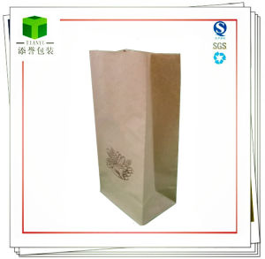 Square Bottom Paper Bag for Food or Cosmetic pictures & photos