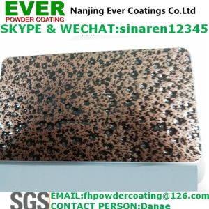 Black Copper Vein Hammer Tone Texture Powder Coating pictures & photos