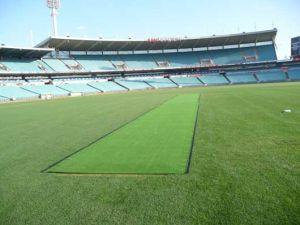C Shape Football Grass Artificial Soccer Turf