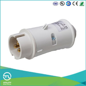 Utl Uz-637 IP44 Plastic Waterproof Plug Industrial Connector Socket pictures & photos