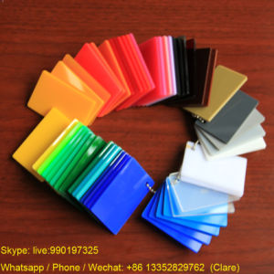 100% Virgin Colorful Extruded Acrylic PMMA Sheet pictures & photos