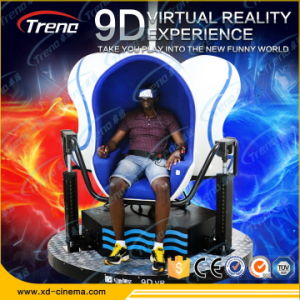 360 Degree Electric Platform 3 Seats 9d Vr Egg Cinema pictures & photos