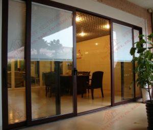 Deluxe Aluminium Sliding Door with Built-in Binds (BHA-DS02) pictures & photos