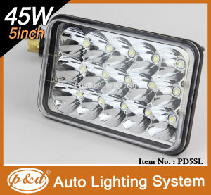 """5"""" 45W LED Headlamp for Truck (PD5SL)"""