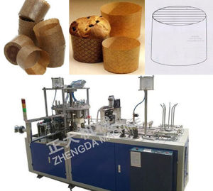 Full-Automatic Paper Muffin Cake Tray Machine