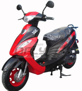 50CC Gas Motor Scooter (YY50QT-6A(2T)) pictures & photos