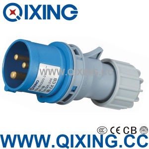 IP44 Industrial Plug for CE Certification (QX-248) pictures & photos