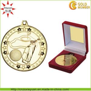 3D Logo Gold Copper Souvenir Coin with Velet Box pictures & photos