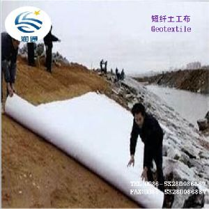 Manufacturer Nonwoven Woven PP Pet Filament Spunded Geotextile pictures & photos