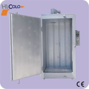 China electrostatic powder coating curing oven china for Paint curing oven