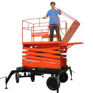 10m Scissor Type Hydraulic Working Lift Platform pictures & photos