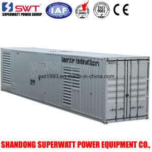 Silent Diesel Generator Set by Perkins Power 2000kVA 50Hz