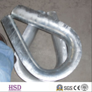 Electro Galvanized DIN6899A Wire Rope Thimble for Fastener Rigging pictures & photos