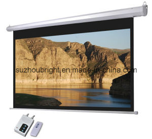 High Quality Projector Screen Projection Screen pictures & photos