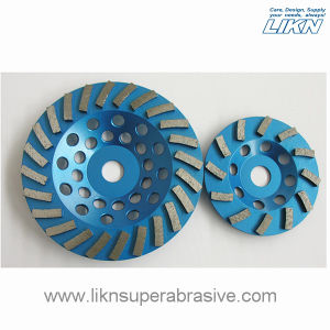Spiral Segment Metal Bond Grinding Wheel