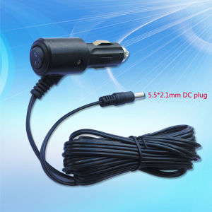 2015 Latest 12V/24V Car Cigarette Lighter with on/off Switch pictures & photos