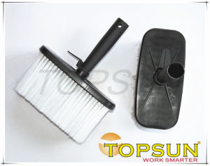 Plastic Handle Masonry Brush for Decorative Cleaning