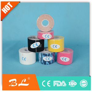 2016 Best Sport Protective Tape Cotton Fabric Kinesio Tape Ce FDA Approved pictures & photos