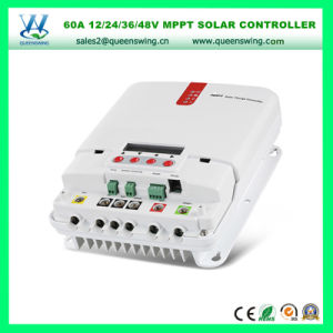 60A 12/24/36/48V MPPT LCD Solar Charge Regulator (QW-ML4860A) pictures & photos