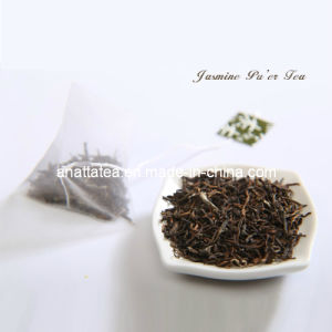 Free Additive Pu′er Tea with Jasmine Flower