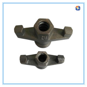Scaffold Nut by Investment Casting Processing pictures & photos