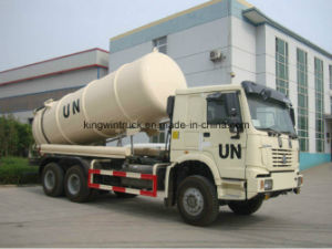 China Garbage Truck/Suction Sewage Truck for 14m3 pictures & photos