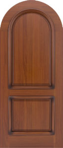 Mahogany Entrance Apartment Round Top Wooden Doors Design pictures & photos