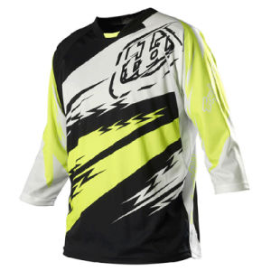 Yellow OEM 100% Breathable Mesh Polyester Motorcycle Jersey (MAT24) pictures & photos