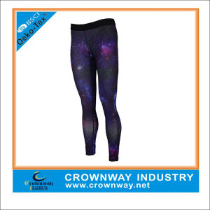 Women′s Active Compression Shorts with 4 Needle 6 Thread pictures & photos