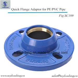 Plastic Pipe Flange Adaptors