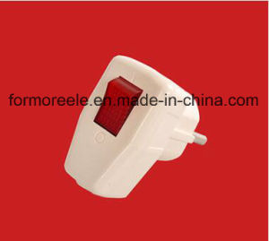 High Quality Plug with Switch/Russian Plug pictures & photos