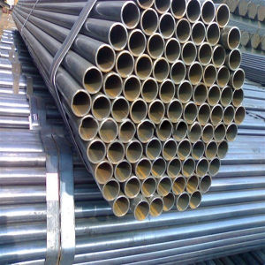 Scaffold Black Tube for Contruction Equipment pictures & photos