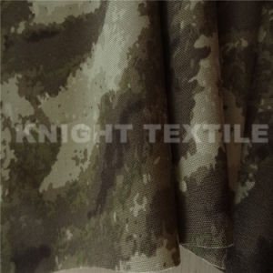 1000d Nylon Ruins Camouflage Print Fire Retardent Bulletproof Fabric (KNCOR1050-17)